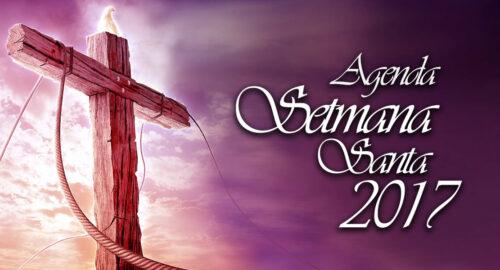 Agenda de actos de la Semana Santa 2017