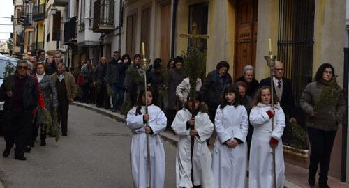 Se inicia la Semana santa 2019 con la celebración del Domingo de Ramos
